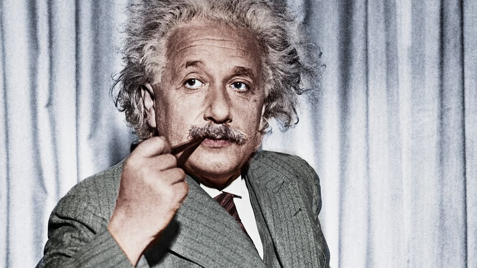 """Albert Einstein described quantum entanglement as """"spooky action at a distance"""" (Credit: Getty Images)"""
