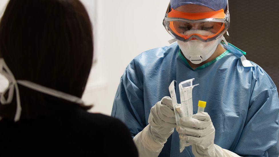 Observing the lives of medical professionals helps us process the pandemic's impact on our society (Credit: Alamy)