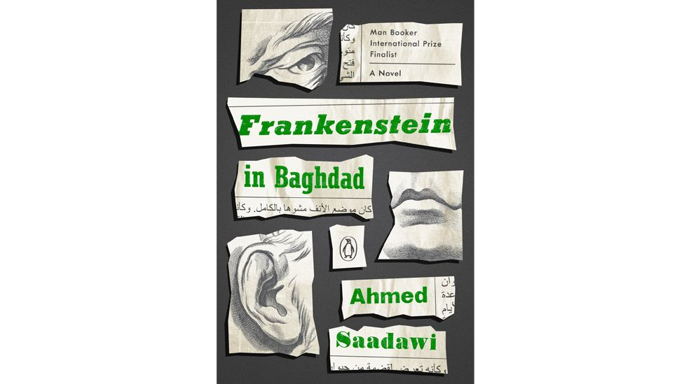 A man-made human-like being is at the centre of Ahmed Saadawi's satirical novel Frankenstein in Baghdad (Credit: Bloomsbury)