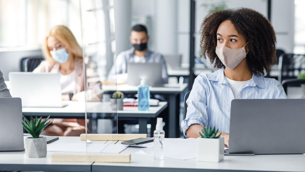 When the pandemic is over, having everyone work the same schedule could create a more level playing field, says Bloom (Credit: Alamy)