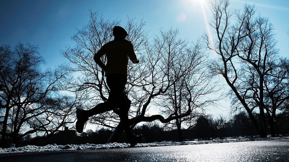 Long distance runners might fare better in colder conditions (Credit: Spencer Platt/Getty Images)