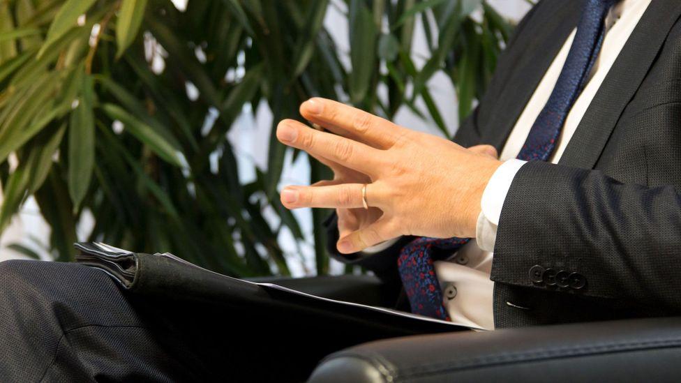 File image of an arrogant, disinterested boss