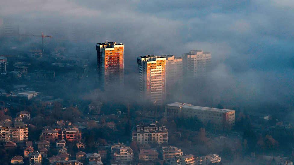 Romanian smoke pollution (Credit: Getty Images)
