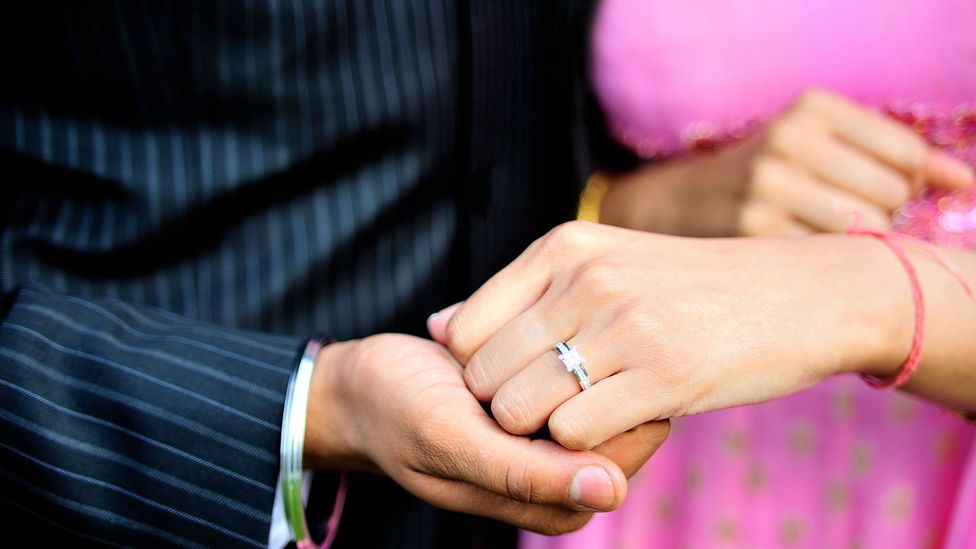 The conditions in which younger generations achieve have changed dramatically – but the pressure to hit major life milestones like getting married hasn't moved (Credit: Alamy)