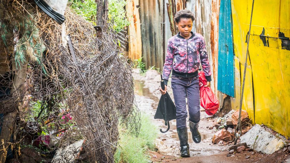 """South Africa has adopted the right, yet there remains an """"implementation gap"""", with persistent environmental issues such as pollution (Credit: Alamy)"""