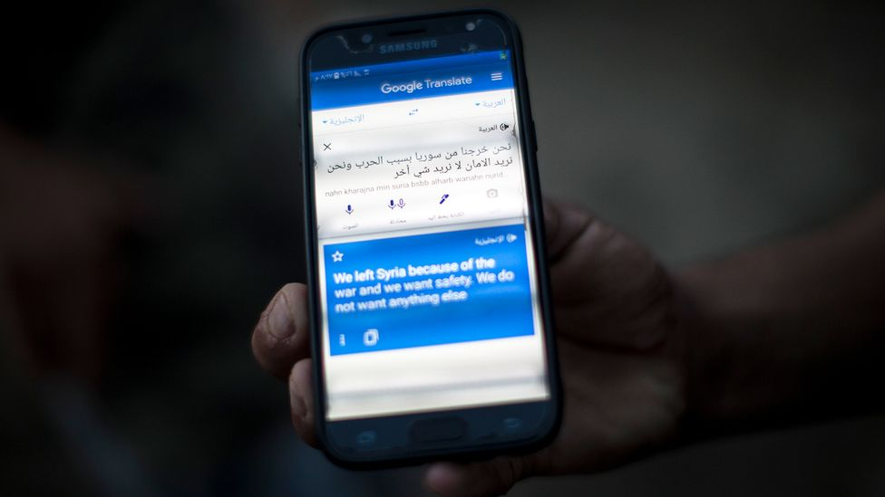 Machine-powered translation tools can provide vital ways of communicating in situations where a human translator may not be available (Credit: Maciej Luczniewski/Getty Images)