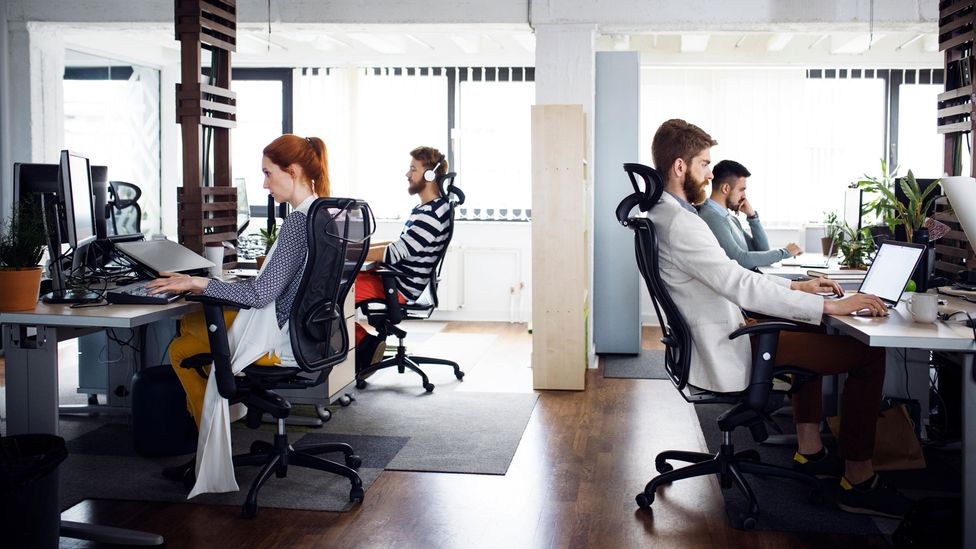 More than anything, employers' personal preferences will guide whether or not workers find themselves back at their desks (Credit: Alamy)