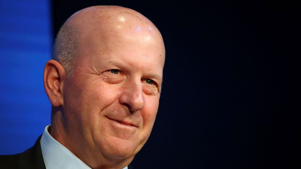 Goldman Sachs CEO David Solomon is among the executives leading the charge to get workers back into their seats, as quickly as possible (Credit: Alamy)