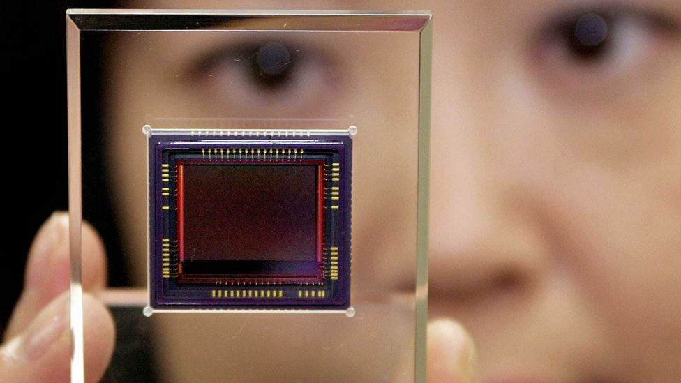 Digital camera photosensors contain tiny imperfections that act as a fingerprint (Credit: Getty Images)