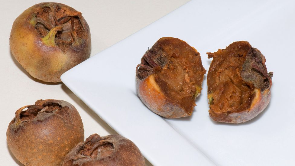 Medlar jam was a popular Christmas gift in the late 19th century (Credit: Alamy)