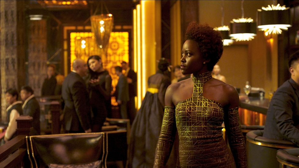 The remarkable costumes that Carter created for Black Panther won her an Oscar (Credit: Alamy)