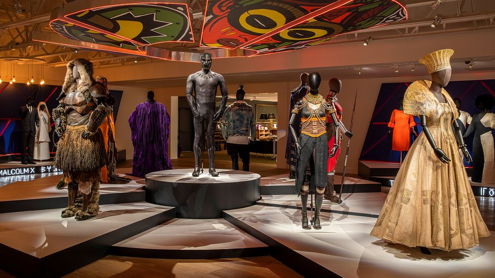 Carter's utopian vision will be broadened out in the Black Panther sequel (Credit: Scad Fash Museum of Fashion + Film)