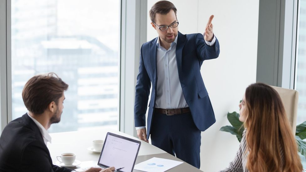 Toxic work cultures tend to start at the top and permeate down, experts say (Credit: Alamy)