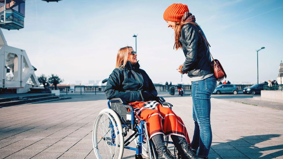 One of the most effective ways to move away from ableist language is understanding the disabled community, having conversations and listening to their concerns (Credit: Alamy)