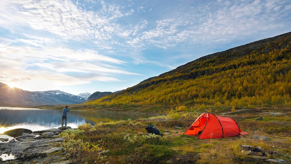 Ninety-seven percent of Sweden is uninhabited and very few trails or beaches are private (Credit: Johner Images/Getty Images)