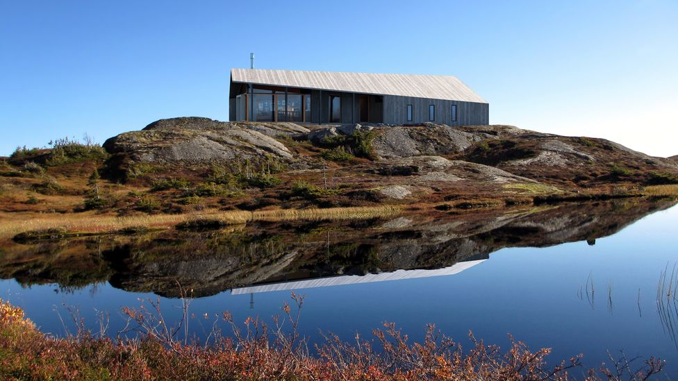 The Gapahuk was designed by Snøhetta and inspired by traditional Nordic wood cabins (Credit: Snøhetta)