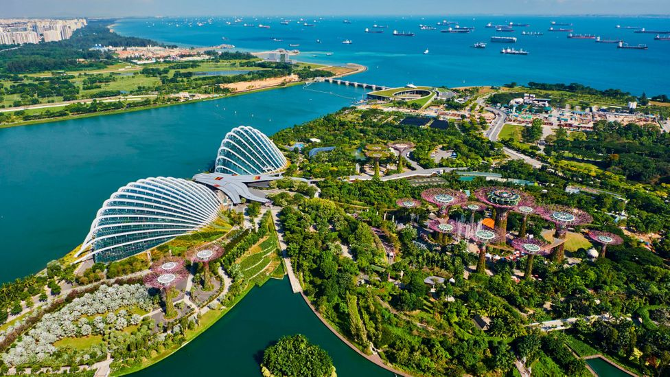 Singapore is renowned for its impeccable cleanliness and pristine public image (Credit: Tuul & Bruno Morandi/Getty Images)