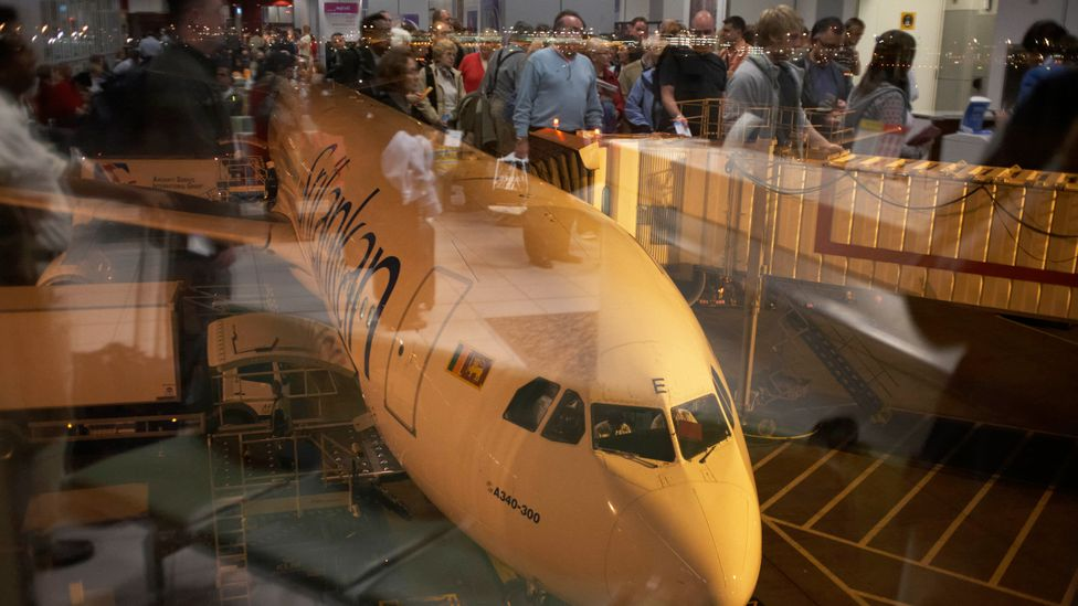 Aviation passenger numbers are projected to double by 2037, meaning many more greenhouse gas emissions unless sustainable alternatives are found (Credit: Getty Images)