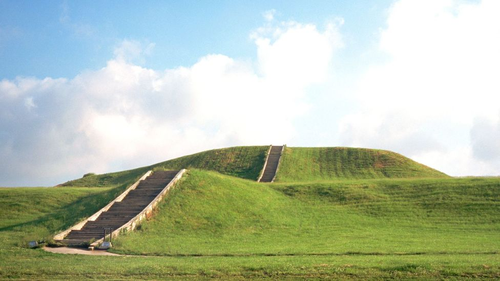 Seventy of Cahokia's original mounds are protected within the Unesco World Heritage Site (Credit: Michael S Lewis/Getty Images)