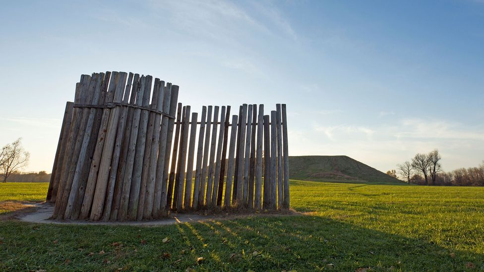 Tall poles aligned with the rising sun measured seasons in Cahokia's heyday (Credit: Mostardi Photography/Alamy)