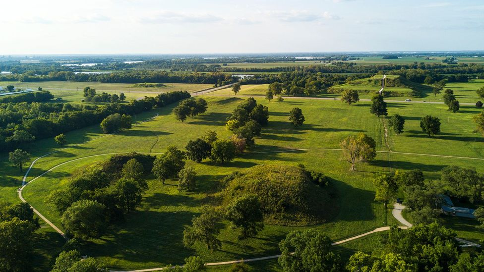 Built on the cusp of water and land, Cahokia may have been a spiritual crossroads (Credit: Matt Champlin/Getty Images)