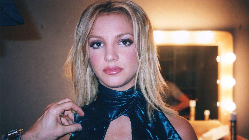 Καδράρισμα της Britney Spears (Credit: Sky Documentaries)