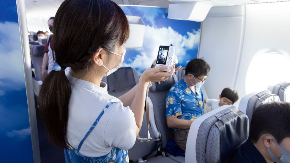 Planes represent the freedoms we're missing, which is why experiences like ANA's Hawaii-themed flight have been a hit (Credit: ANA)