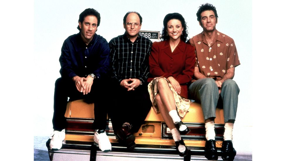 With their static worlds, sitcoms like Seinfeld have a particularly calming appeal when it comes to rewatching (Credit: Alamy)