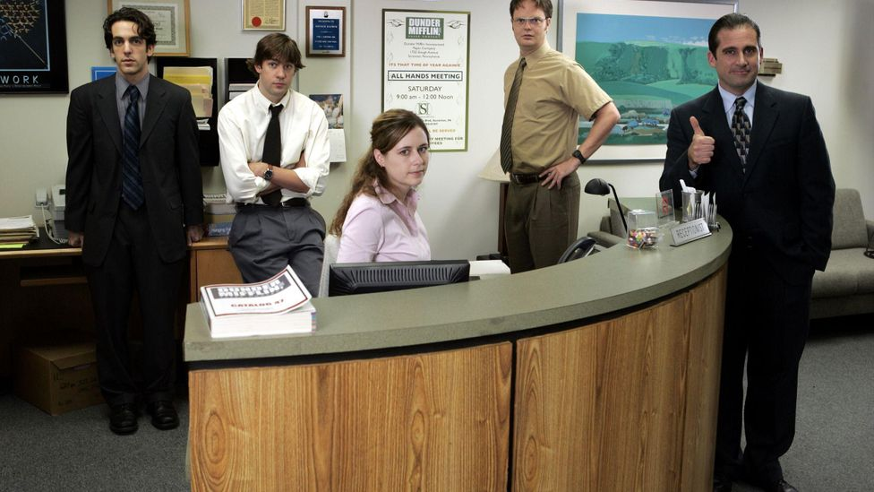 The most streamed programme in the US last year was the American version of The Office, which finished in 2013 after nine series (Credit: Alamy)
