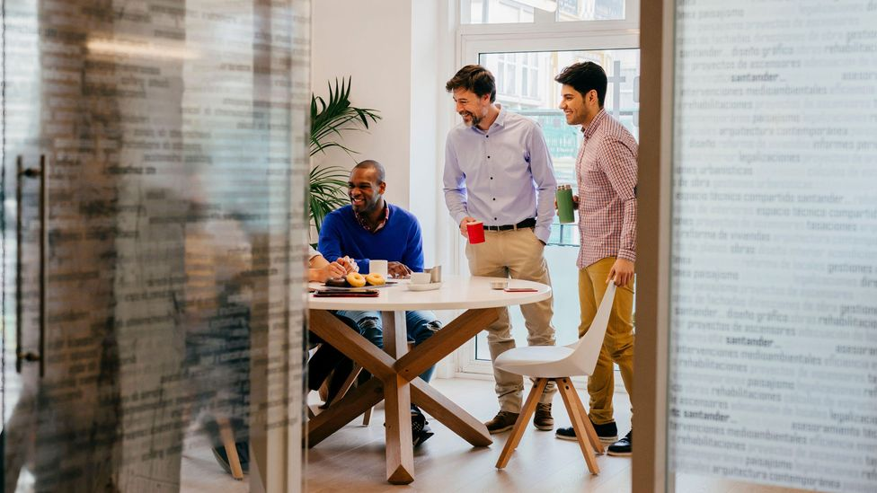If more women take the option to work remotely, men may have the chance to benefit from being in the office, which could chip away at gender equality (Credit: Alamy)