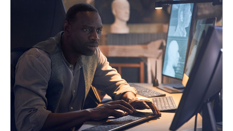 The French thriller Lupin was Netflix's most-watched show in the first quarter of 2021 (Credit: Netflix)
