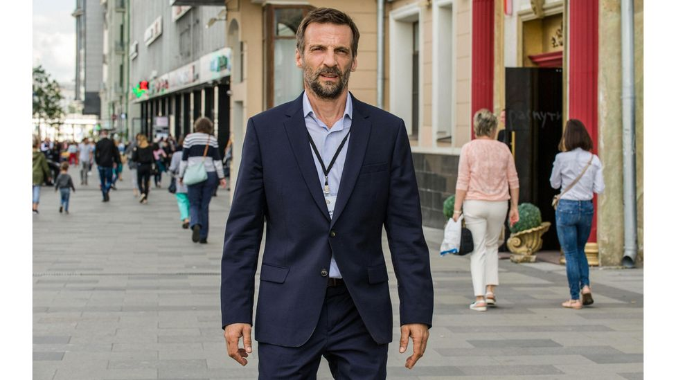 In spy drama The Bureau, Mathieu Kassovitz stars as a French agent who betrays his country for love (Credit: Federation Ent /Alamy)