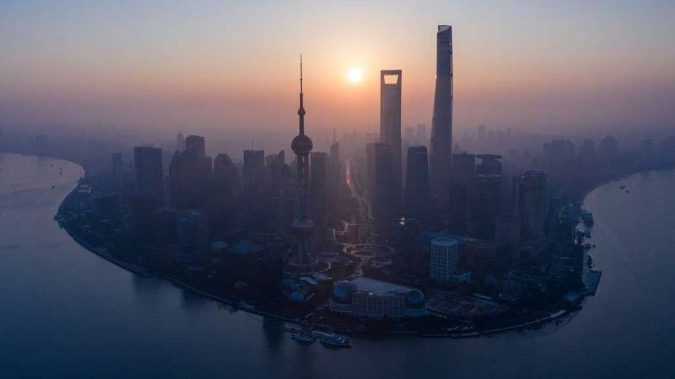 Shanghai's skyline (Credit: Getty Images)