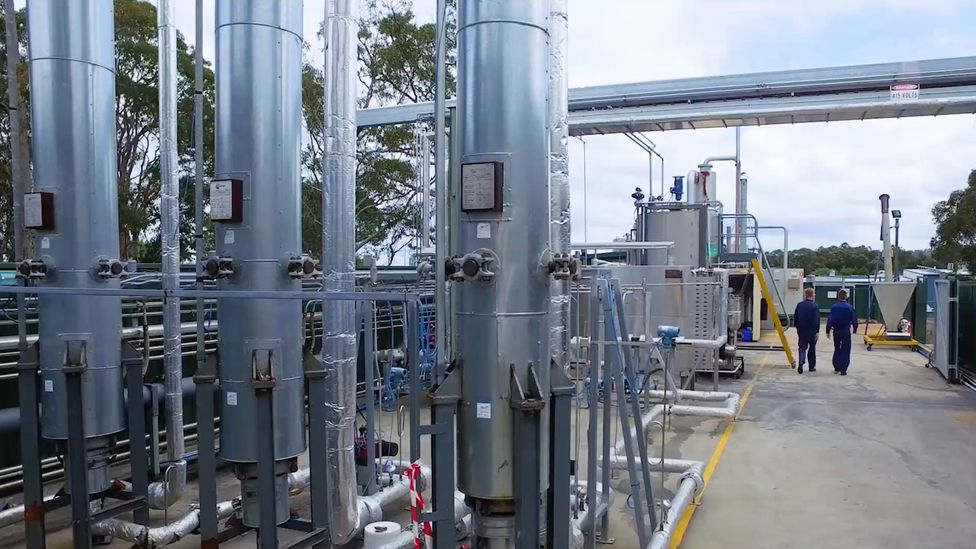 A pilot plant has shown that the use of very hot, supercritical water can help chemical recycling scale-up to useful levels (Credit: Licella)