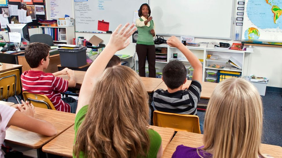 Teachers must innovate constantly, something that's tough on those who worry about the quality of their ideas (Credit: Alamy)
