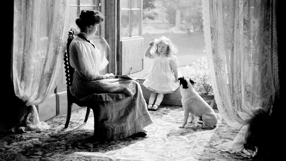 """The first processed dog foods were luxury products which ushered in the idea of the """"pampered pet"""" (Credit: Kirn Vintage Stock/Corbis via Getty Images)"""