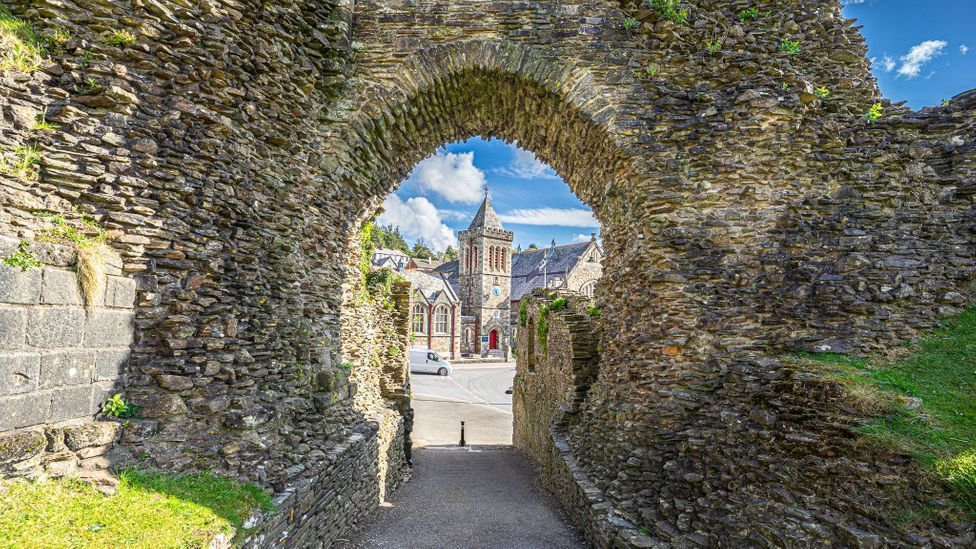 The ruins of Launceston Castle still dominate the ancient Cornish market town (Credit: Richard Collett)