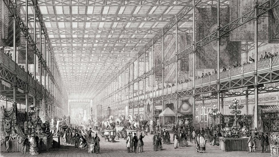 """In 1851, London hosted the """"Great Exhibition Of The Works Of Industry Of All Nations"""" (Credit: Getty Images)"""