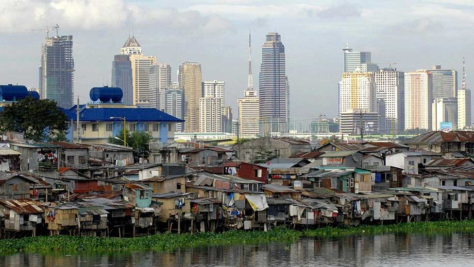 If the gap grows between rich and poor, then instability can follow (Credit: Jay Directo/Getty Images)