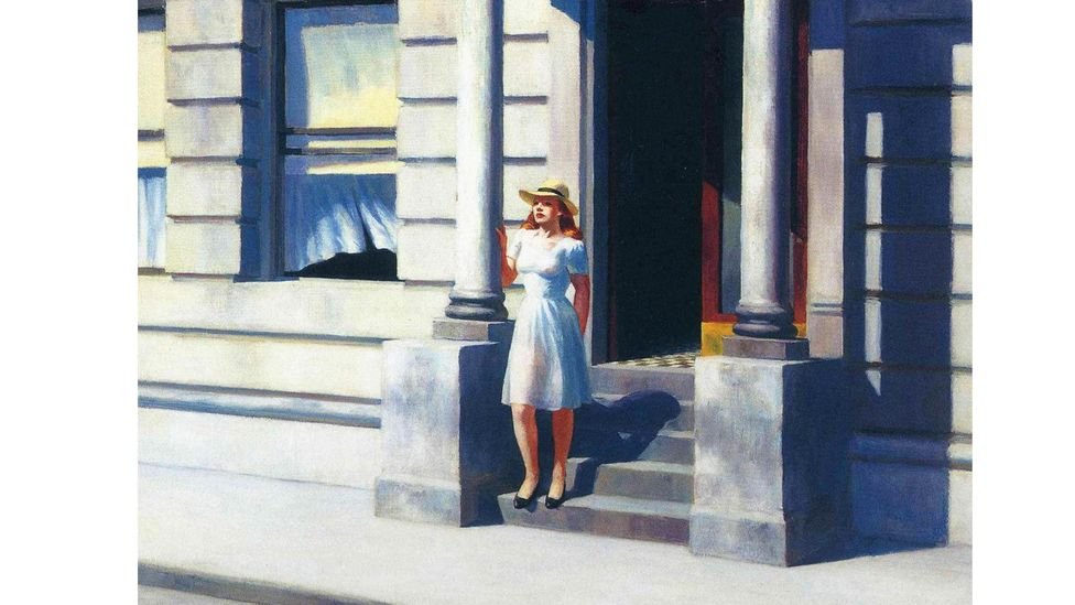 The work of painter Edward Hopper is explored in Olivia Laing's book The Lonely City (Credit: Alamy)