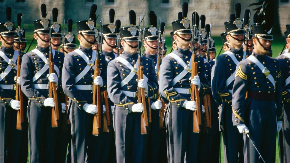 Findings from a decade-long study of US Military cadets showed that grit only contributed modestly to academic, military and physical performance (Credit: Getty Images)