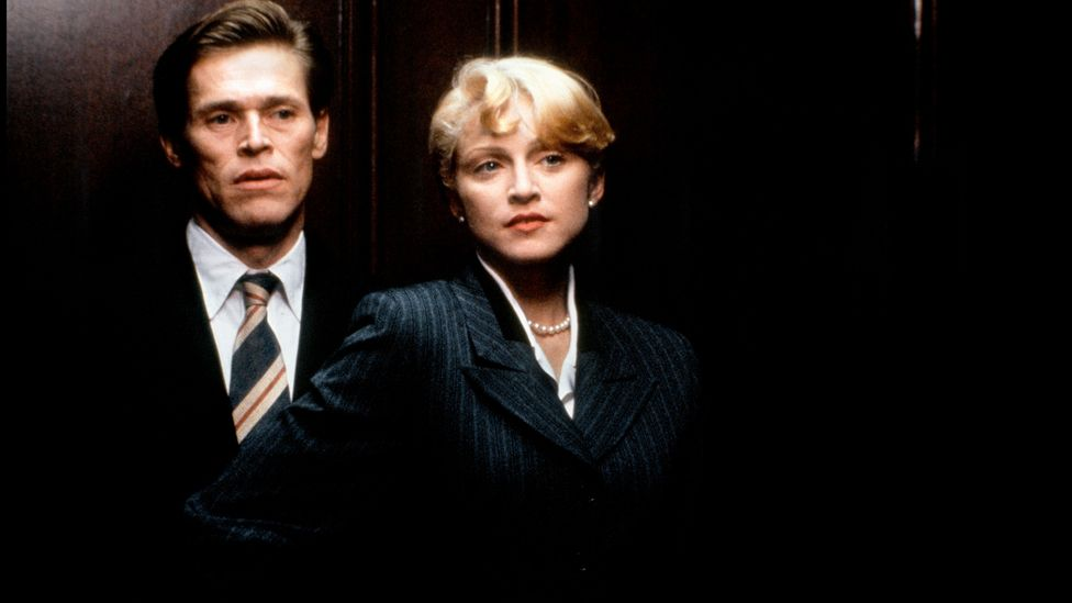 Body of Evidence, with Madonna and Willem Dafoe, was one of a number of erotic thrillers that came out in Basic Instinct's wake (Credit: Alamy)