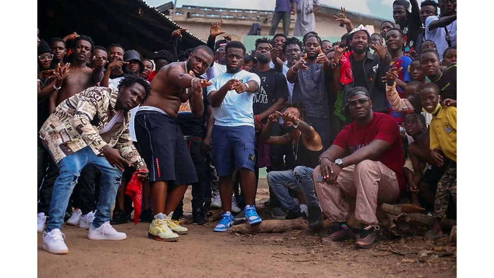 A new collaboration between Ghanaian drill artists Smallgod, O'Kenneth and Kwaku DMC and UK acts Headie One and LP2Loose shows drill's global spread. (Credit: Nasecworld/Believe)