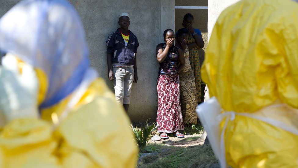 A recent Ebola outbreak in Guinea, West Africa, originated with a man who contracted the virus during an outbreak five years earlier (Credit: Kenzo Tribouillard/AFP/Getty Images)