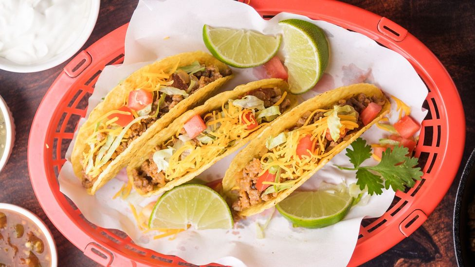 The hard-shell taco is an important part of Mexican American history (Credit: ahirao_photo/Getty Images)