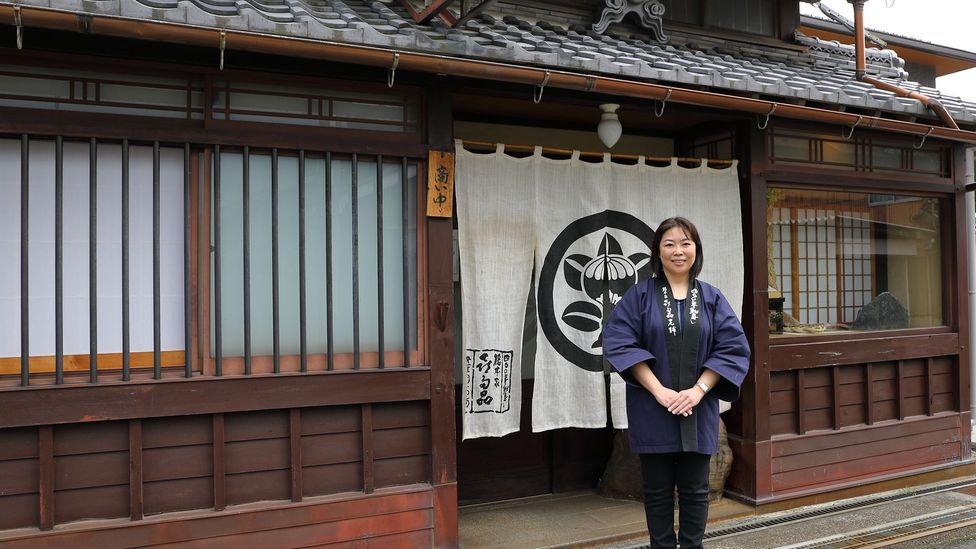 Kitamura is the 18th generation in her family to run Kitashina, and she took over the family business to preserve its authentic way of making funazushi (Credit: Tom Schiller)