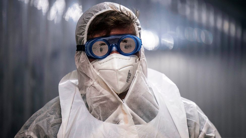 The heightened levels of fear and anxiety created by the pandemic has created an ideal environment for fraudsters  (Credit: Marco Longari/AFP/Getty Images)