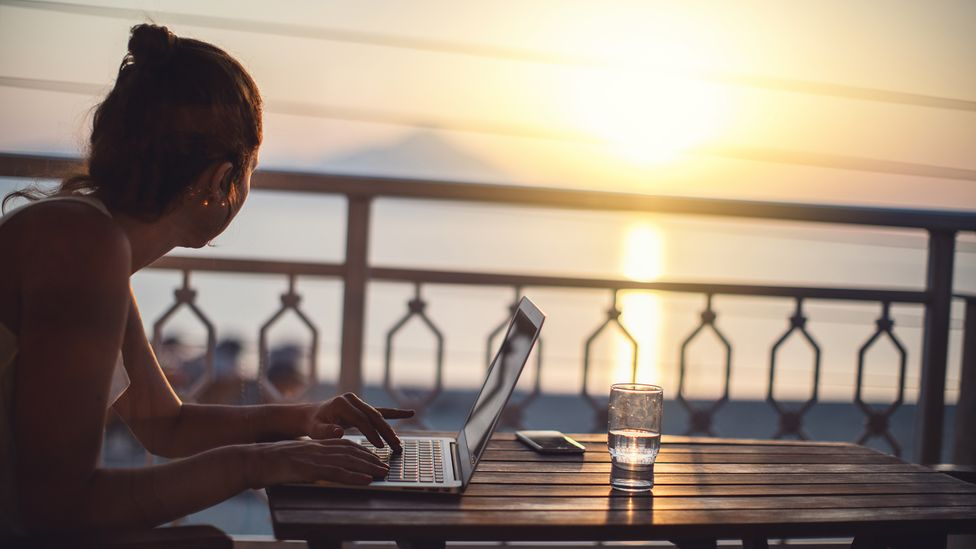 Being able to travel and work remotely in a different city or country is a privilege, which is why widespread digital nomadism is inaccessible to all, experts say (Credit: Getty)