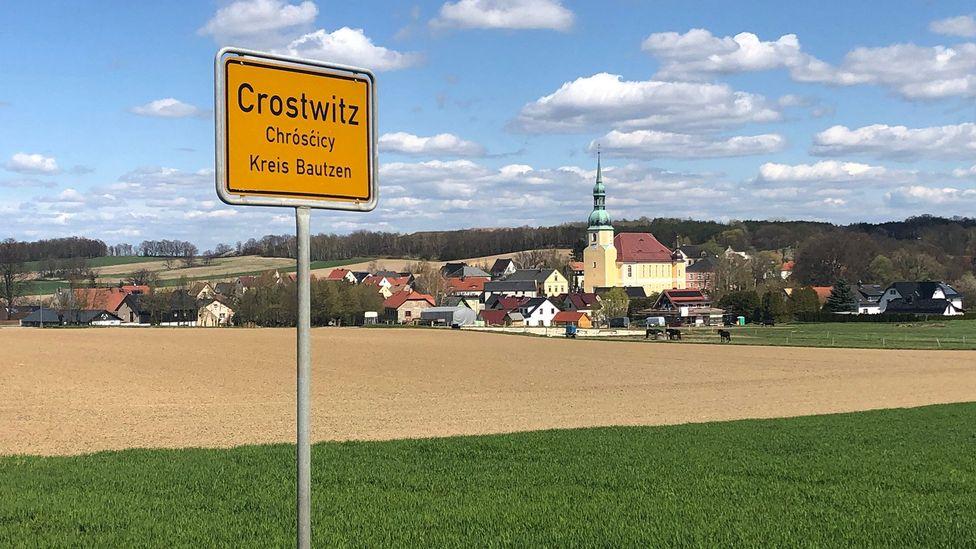 In Crostwitz (oder Chrósćicy) sind rund 90 % der Einwohner Sorben (Bildnachweis: Thomas Sparrow)