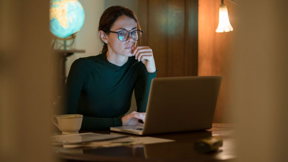 Digital body language includes both how you communicate on video calls as well as through written communication, like email (Credit: Getty Images)